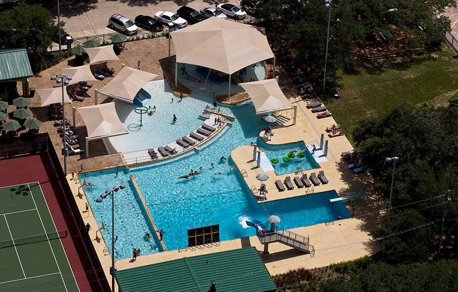 West University Place Colonial Park Sunbelt Pools