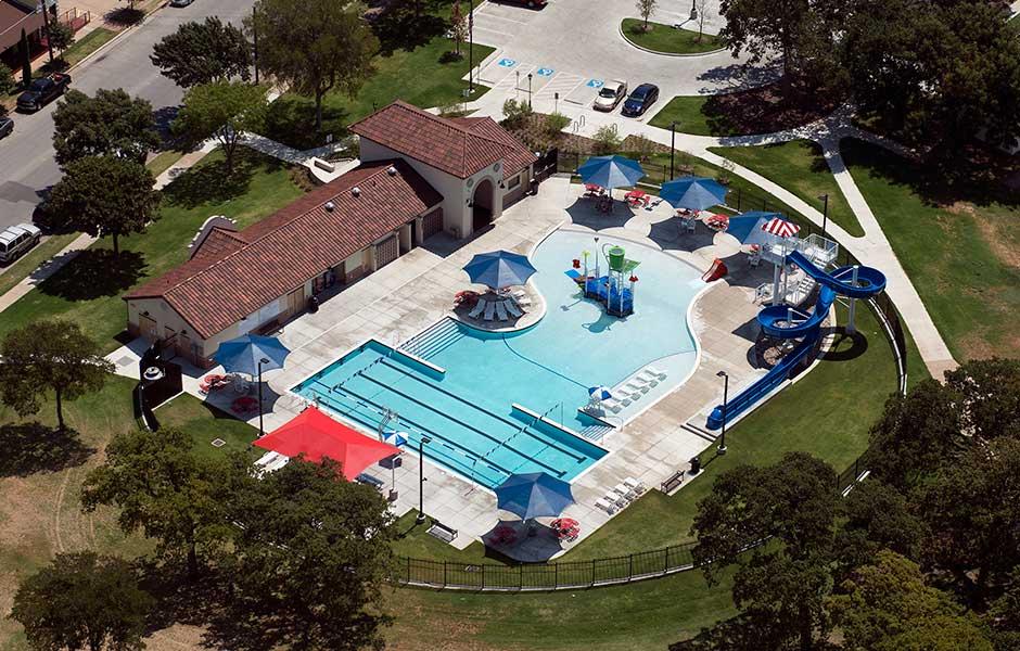 Fort Worth Marine Park Sunbelt Pools
