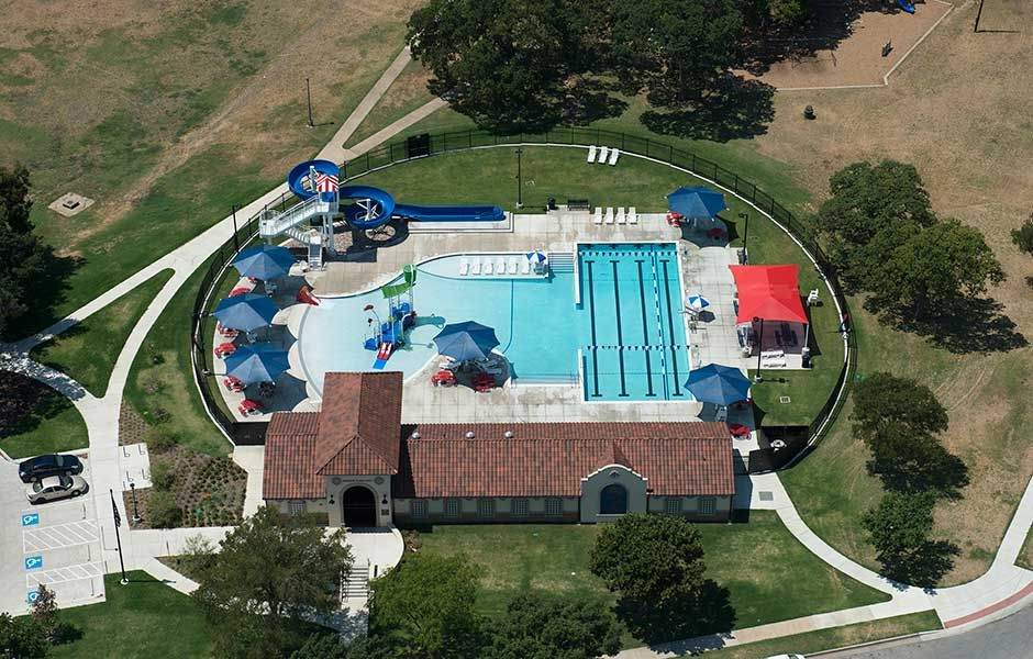 Sunbelt pools renowned commercial pool builder for Fort worth swimming pool builders